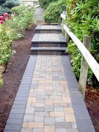 best 25 paver walkway ideas on front sidewalk ideas