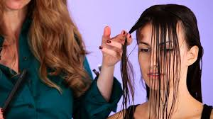 hairstyles that have long whisps in back and short in the front how to cut wisps of hair hair cutting youtube
