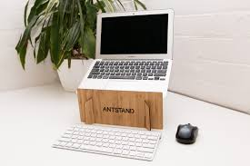 antstand original the ultraportable bamboo laptop stand antstand