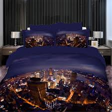 New York City Duvet Cover City 3d Bedding Set 4 Pieces Bedding Sets