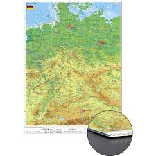 map of deutschland germany stiefel physical map of germany for pinning on honeycomb board in