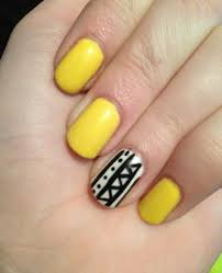 happy new year black and yellow nail designs 2015 wpjournals