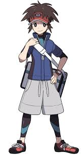 which main pokemon trainer in game or anime clothing