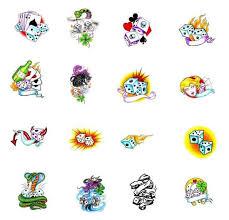 dice tattoos what do they dice tattoos designs symbols
