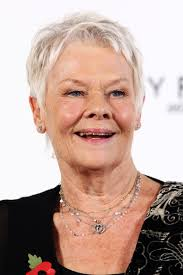 judi dench hairstyle front and back of head judi dench photos photos 23rd bond film photocall zimbio