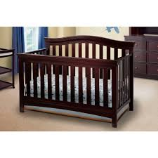 Graco Lauren Signature Convertible Crib by Featuring Sturdy Wood Construction The Delta Bennington Curved 4