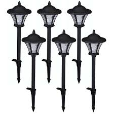 home depot path hton bay low voltage black outdoor integrated led landscape coach
