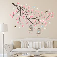 wall stickers uk wall art stickers kitchen wall stickers ws6052sk crystal cherry blossom tree with swarovski crystals