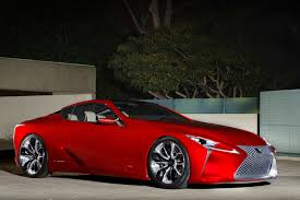 lexus lf lc sound lexus lf lc could see life as 600hp mercedes fighter