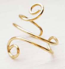 gold ear cuffs items similar to ear cuff gold ear wrap swirl small on etsy