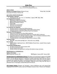 Developer Resume Sample by I Like This Resume Workin For The Money Pinterest Art