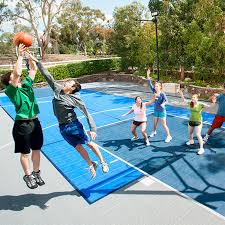 Outdoor Basketball Court Cost Estimate by Sport Court Experienced Courtbuilders Sport Court