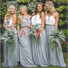 best 25 two piece bridesmaid dresses ideas on pinterest