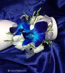 blue orchid corsage corsage boutonnieres prom homecoming vickie s flowers brighton