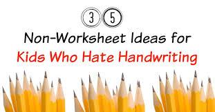 25 more fun handwriting practice ideas no worksheets creekside