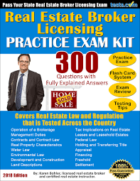 real estate broker practice test