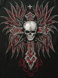http img0049 popscreencdn com 111099446 skulls wings cross biker