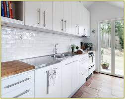brick tile kitchen backsplash white brick tile search oakland white