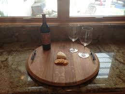 wine barrel top serving tray wine barrel chairs