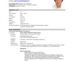 official resume format singular official resume format formal free templates you