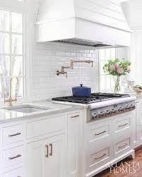 white tile backsplash kitchen home designs idea