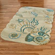 Overstock Com Outdoor Rugs by Coffee Tables Coastal Runners Starfish Rug Pottery Barn Seahorse
