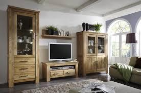 Wohnzimmer Massivholz Wohnwand Wildeiche Angenehm Auf Wohnzimmer Ideen In Unternehmen