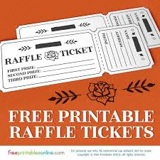 raffle tickets printable rosy raffle tickets free raffle template ticket