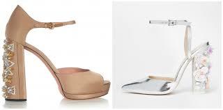 wedding shoes asos bridal shoes splurge or save image brides image ie