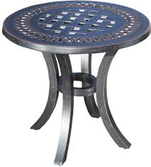 small metal outdoor end tables our metal outdoor side table styles cabana coast