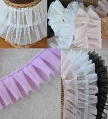 ruffled ribbon popular ribbon ruffles buy cheap ribbon ruffles lots from china