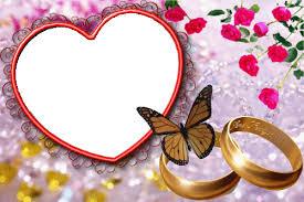 cadre photo mariage image cadre fleur amour mariage pour la création