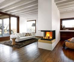 Wohnzimmer Deko Mit Holz Kamin Deko Glamouros Sommer Attrappe Aus Holz Dekorieren