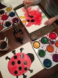3d ladybug craft for kids u2014 squirmy wormy children u0027s books