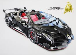 cartoon lamborghini veneno search results for handdrawn draw to drive