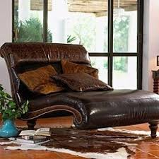 Leather Chaise Lounge Leather Double Chaise Lounge Foter