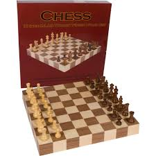 amazon com athena tournament chess inlaid wood board game with