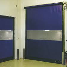Overhead Door Safety Edge Rapidcoil Commercial High Performance High Speed Fabric Doors