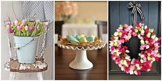Flower Home Decor by 30 Easter Decoration Ideas Easter Flower Arrangements And Decor