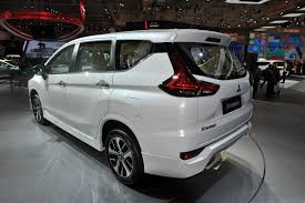 mitsubishi expander interior mitsubishi xpander at giias 2017 live left rear three quarters