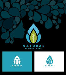 water icon sets leaf icon ornament free vector in adobe