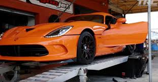 Dodge Viper Orange - 2014 dodge viper ta nitrous dyno sheet details dragtimes com