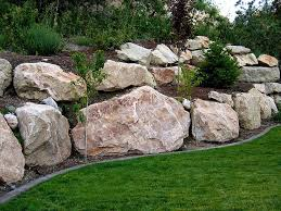 simple decoration how much do landscape boulders cost alluring