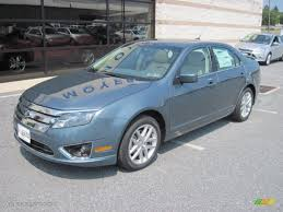 steel blue metallic ford fusion 2012 steel blue metallic ford fusion sel v6 awd 68152865 photo 2
