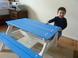Ana White Preschool Picnic Table Diy Projects by Ana White Preschool Picnic Table Diy Projects