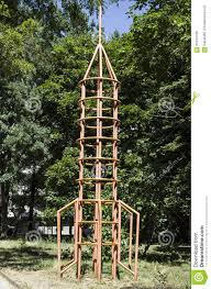 children u0027s climbing frame space rocket stock photo image 60442798