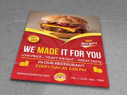 restaurant flyer template free psd flyer template printable