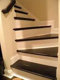 dark stairs light trim for the home pinterest stair