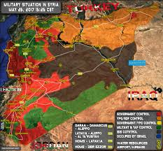 Damascus Syria Map by Situation In Syria On May 25 2017 Map Update