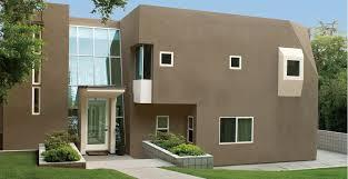 contemporary exterior house paint colors